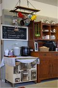 Corner kitchen. Stock Photos