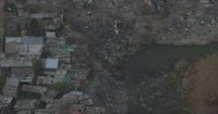 A rural settlement Stock Footage