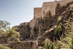 Historical Harput Castle in Elazig, Turkey - stock photo