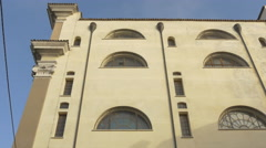 View of Santa Maria Maggiore with beautiful architectural design in Trieste Stock Footage