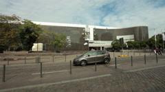 Kunst museum (art museum), Dusseldorf - Germany Stock Footage