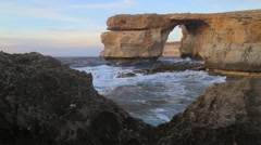 Azure Window Malta - stock footage