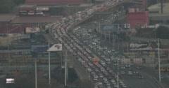 Johannesburg M1 highway - stock footage