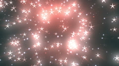 Celebration Stars 5 Loopable Background - stock footage