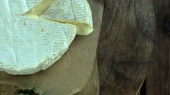 Camembert (4k footage; seamless loopable) - stock footage