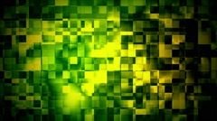 Glitch Moving Boxes 16 Loopable Background Stock Footage