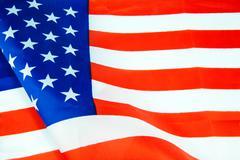 United States of America flag Stock Photos