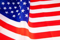 United States of America flag - stock photo