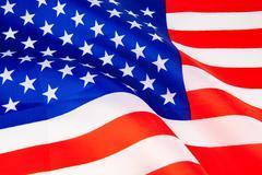 United States of America flag - stock photo