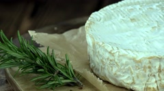 Camembert (4k footage; not loopable) Stock Footage