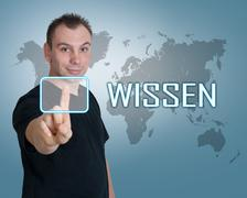 Wissen - stock photo