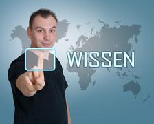 Wissen Stock Photos