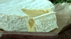 Camembert (4k footage; not loopable) - stock footage