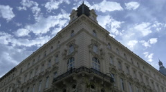 Beautiful building in the first district of Vienna Stock Footage