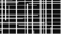 Vj Loop Black And White Labyrinth Visual Background Stripes Stock Footage