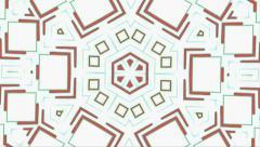 Visual Loops Kaleidoscope Digital Vj Motion Art - stock footage