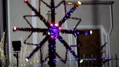 Christmas  star Nativity Scene Stock Footage