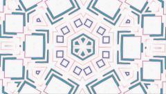 Stock Video Footage of Visual Loops Kaleidoscope Digital Art Vj Motion