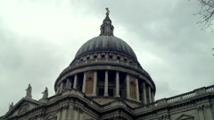 Old Bailey Central Criminal Court Stock Footage