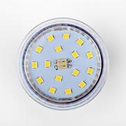 Led diode light bulb on white Stock Photos