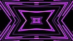 Vj Loops Slow Motion Purple Club Visual Cartoon - stock footage