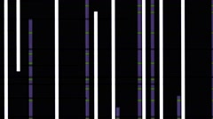 Vj Loops Visual Background Animation Vertical  Lines Stock Footage