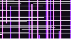 Vj Loops Visual Background Animation Stripes White Purple Stock Footage