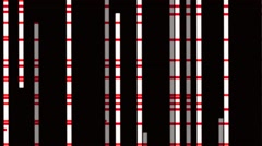 Vj Loops Visual Background Vertical Animation Stripes Red White - stock footage
