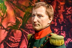 Napoleon Bonaparte Figurine At Madame Tussauds Wax Museum Stock Photos