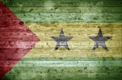 Stock Photo of Wooden Boards Sao Tome and Principe