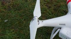 Drone rotor close up, 4K UltraHD Stock Footage