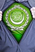 Arab League Businessman - stock photo