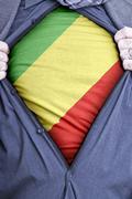 Congolese Brazzaville Businessman - stock photo