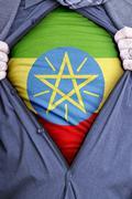 Ethiopian Businessman - stock photo