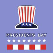 Presidents Day Icon - stock illustration