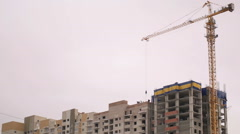 Tower Crane 2 Stock Footage