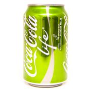 Coke Cola Life 0,33l can - stock photo