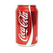 Coke Cola 0,33l can - stock photo
