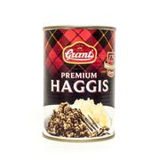Grant's Premium Tinned Haggis - stock photo