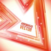 Abstract Straight Flow and Lines Background - stock illustration