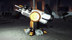 Lightning Gun 3d Model - 3D model