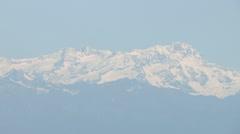 The Piedmont Alps Stock Footage