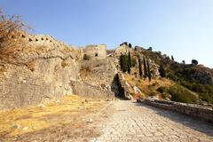 fortress of St. Ivan Montenegro - stock photo