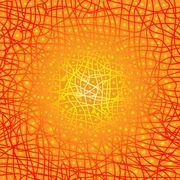 Heat Background - stock illustration