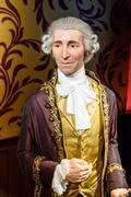 Joseph Haydn Figurine At Madame Tussauds Wax Museum Stock Photos