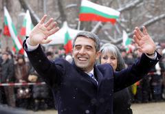 Bulgaria President Election Plevneliev Stock Photos