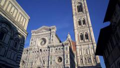Florence Cathedral Dome Tuscany Italy HD - stock footage
