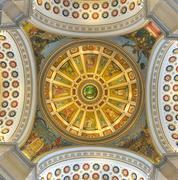 Puerto Rico Capitol Building Cupola - San Juan - stock photo