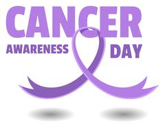 Cancer Awareness Day Stock Illustration