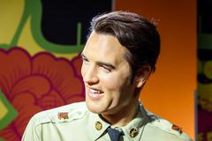 Elvis Presley Figurine At Madame Tussauds Wax Museum Kuvituskuvat